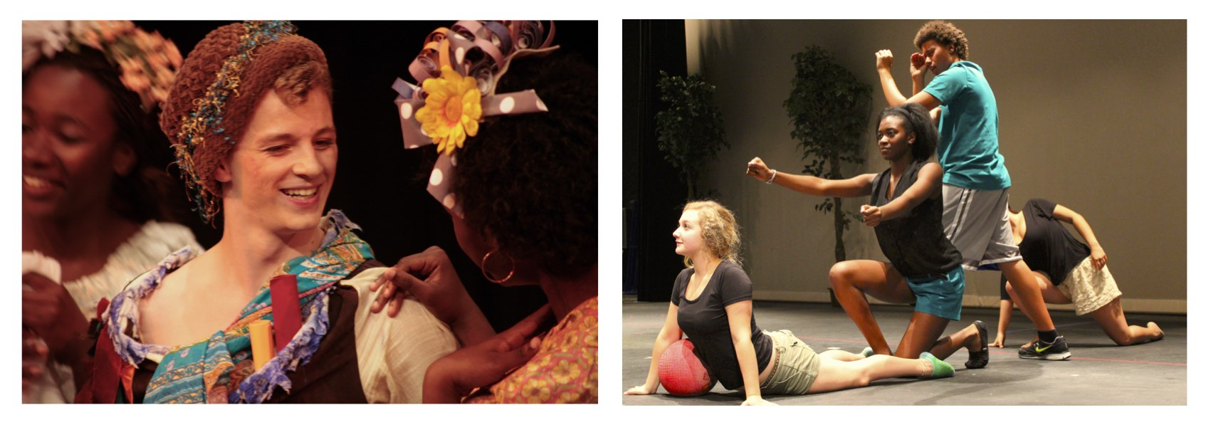 BAYFEST youth theatre summer acting drama camp